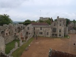 Castello di Carisbrooke . l'interno