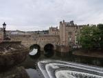 Bath, il ponte Pulteney e il fiume Avon